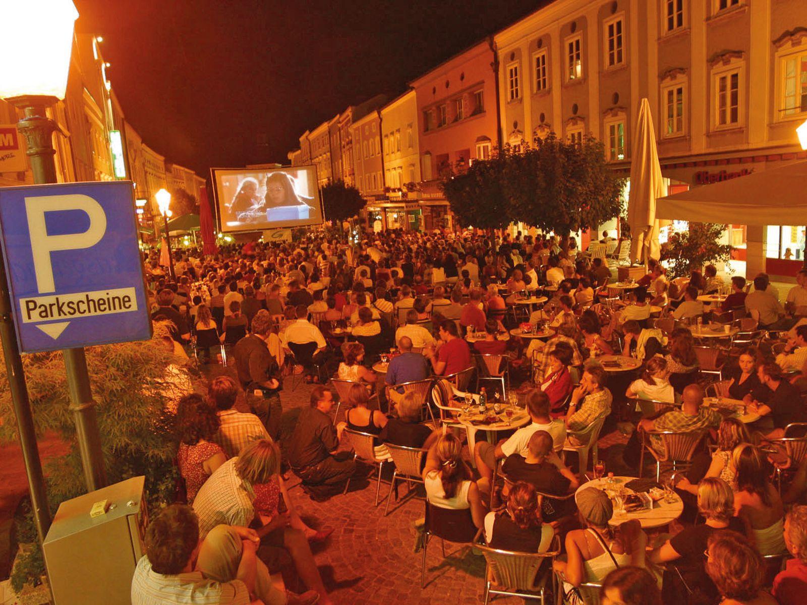 Open Air Kino am Stadtplatz