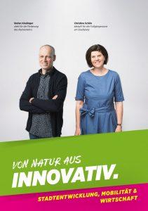 Wahlprogramm – STADTENTWICKLUNG, MOBILITÄT & WIRTSCHAFT